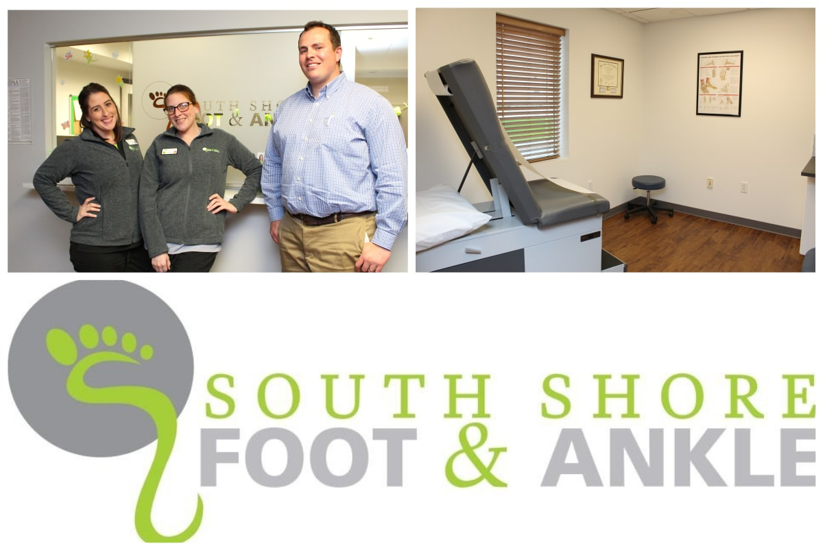 One-on-one with team at South Shore Foot & Ankle
