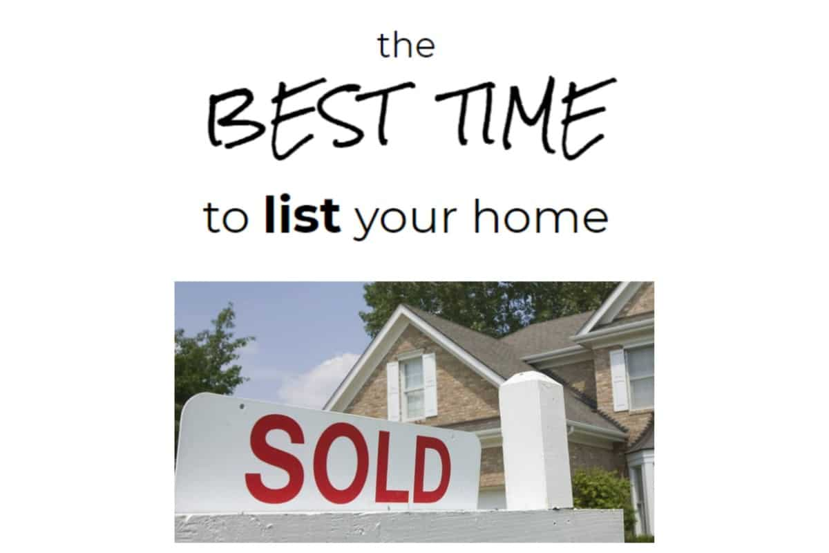 Boulder Bay Realty Group: The best time to list your home