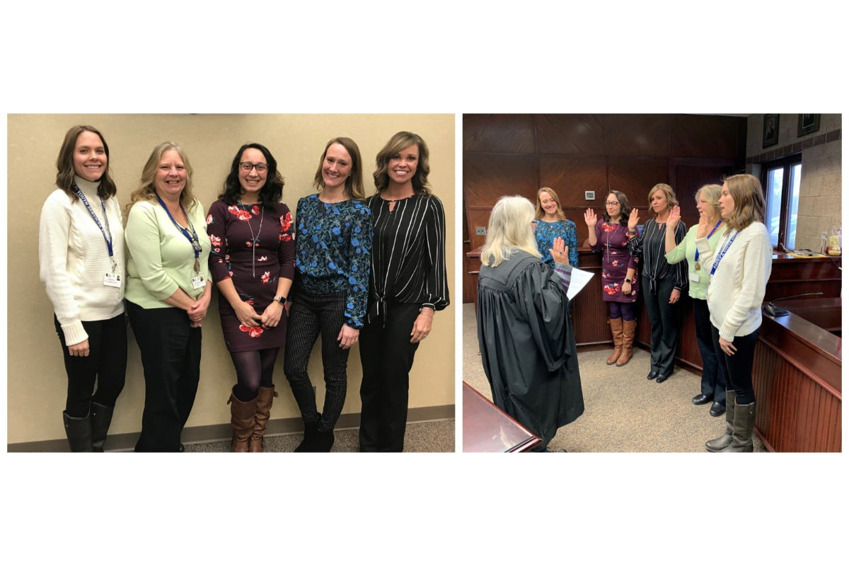 Porter County CASA volunteers take official oath to advocate for children