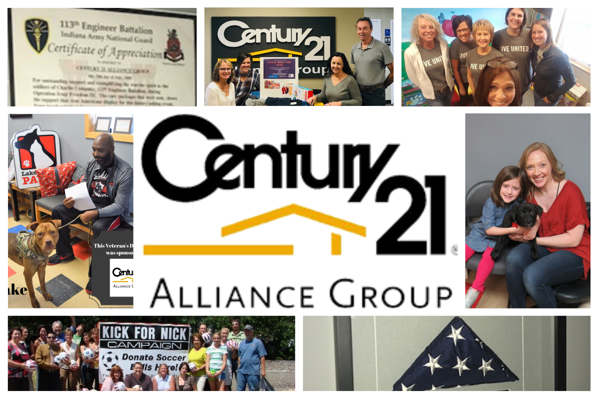 Century 21 Alliance Group Gives Back Locally and Internationally
