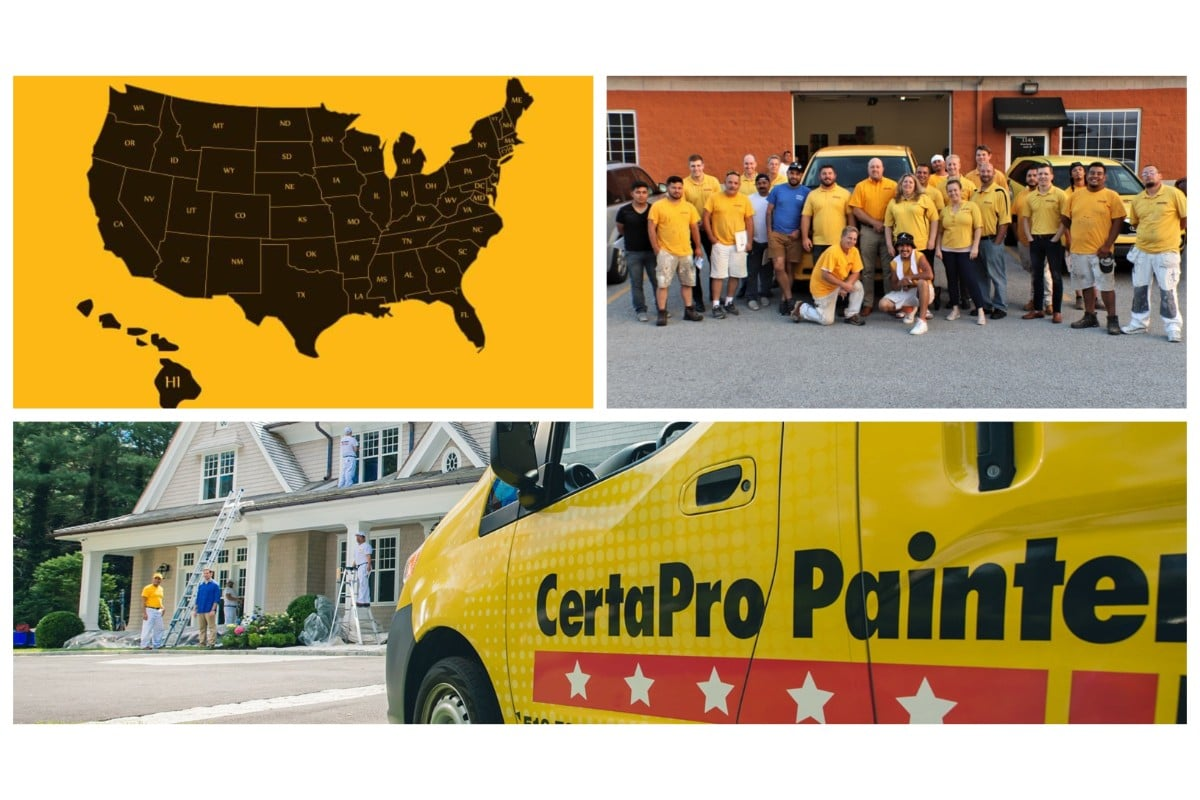 CertaPro bleeds yellow through their work