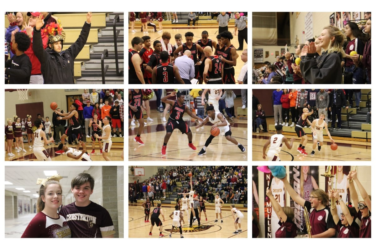 Chesterton Trojans Defeat Portage Indians at Boy's Basketball Conference Game with Score of 70-39