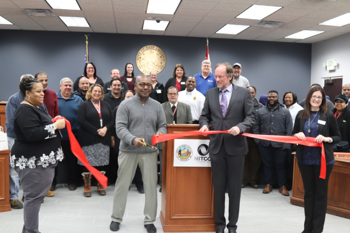 NITCO connects the city of East Chicago to a technological future