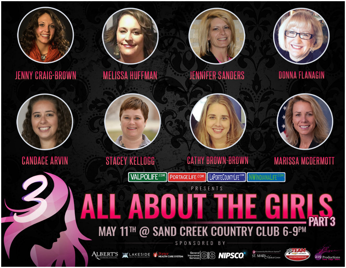 All About the Girls Part 3 Presents a Stellar Cast of Northwest Indiana's Most Inspirational Women This Spring at Sand Creek Country Club