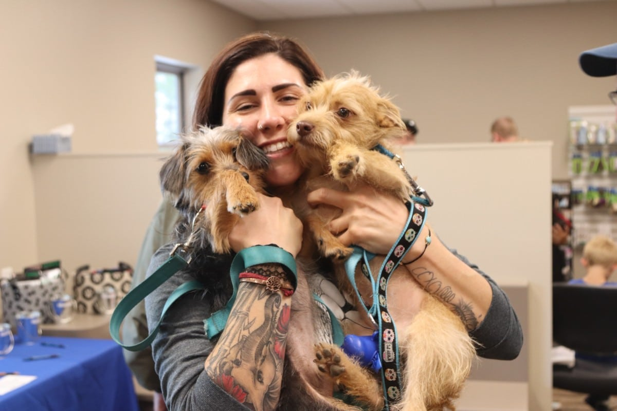 Animal Lovers Gather at New Building by Chester, Inc. at Arbor View Animal Hospital Open House