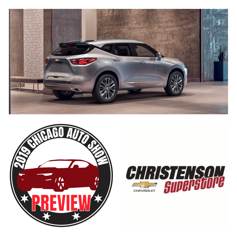 2019 Chevy Blazer: A Chicago Auto Show Preview brought to you by Christenson Chevrolet Superstore