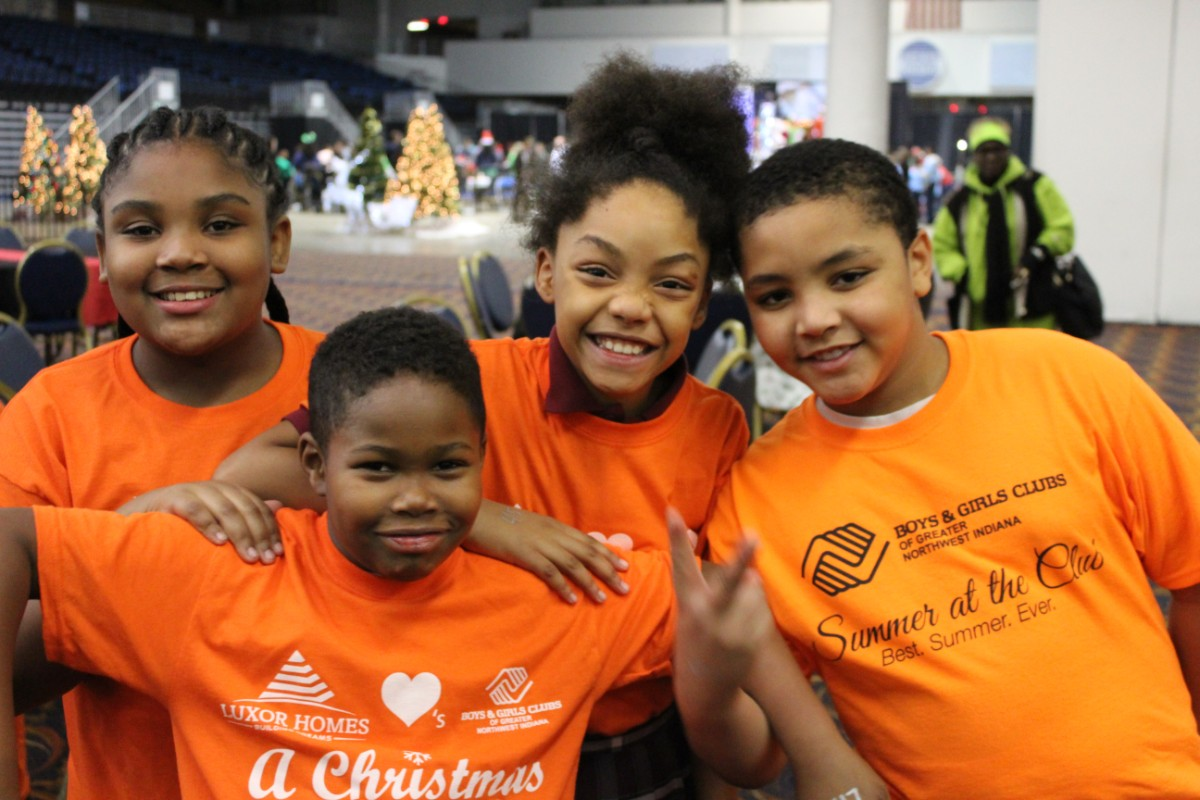 A Christmas To Remember.Boys Girls Clubs Of Greater Northwest Indiana Give 500