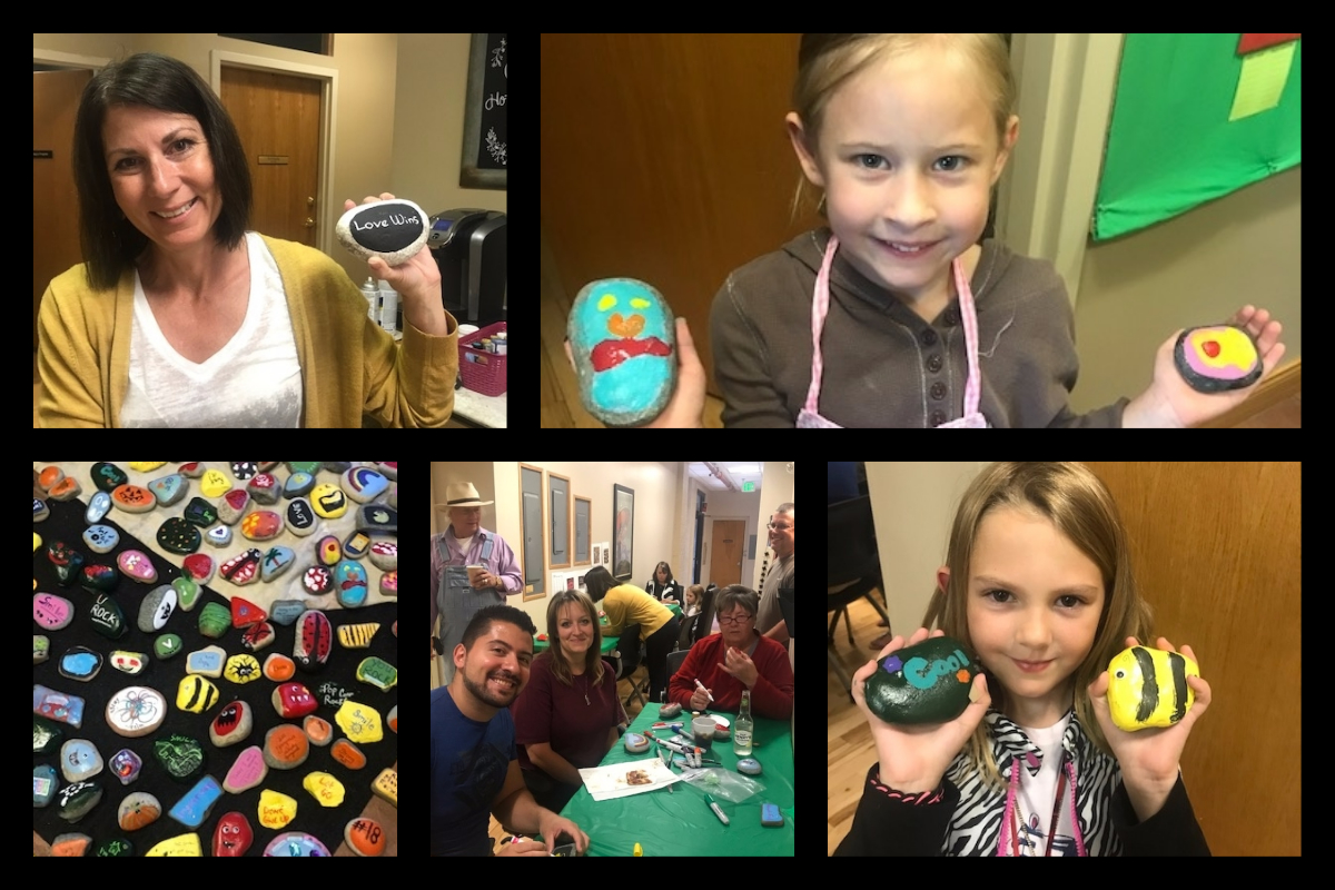 Be On The Lookout for #BoulderBayRocks – Putting Inspiring, Positive Messages Throughout Valparaiso
