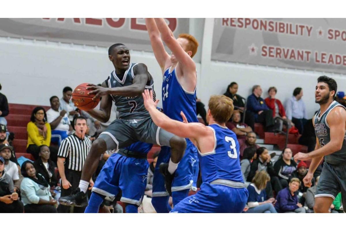 Crimson Wave Men's Basketball Makes a Splash With Historic Start to Season