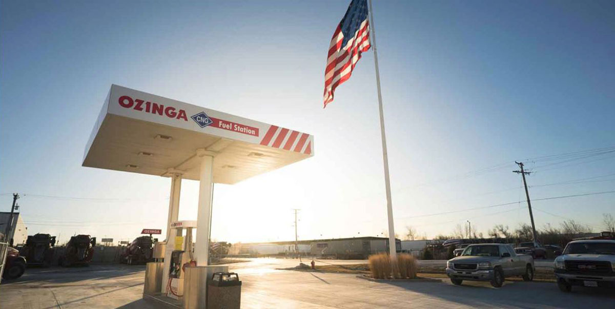 Ozinga and the City of Hobart Laud Compressed Natural Gas Vehicles