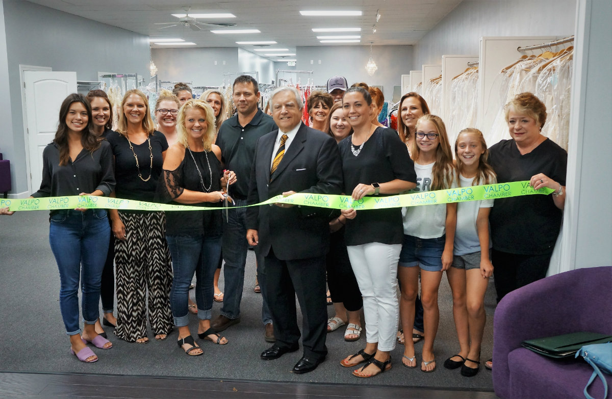 Catherine's Bridal Boutique Celebrates Grand Opening In New Downtown Valparaiso Location