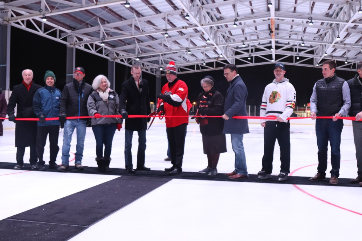 The City of Crown Point Celebrates Opening of Bulldog Park at Ribbon Cutting Ceremony