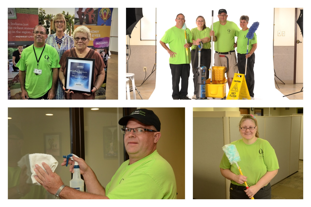 The Opportunity Enterprises Clean Team Keeps Northwest Indiana Businesses Looking Their Best