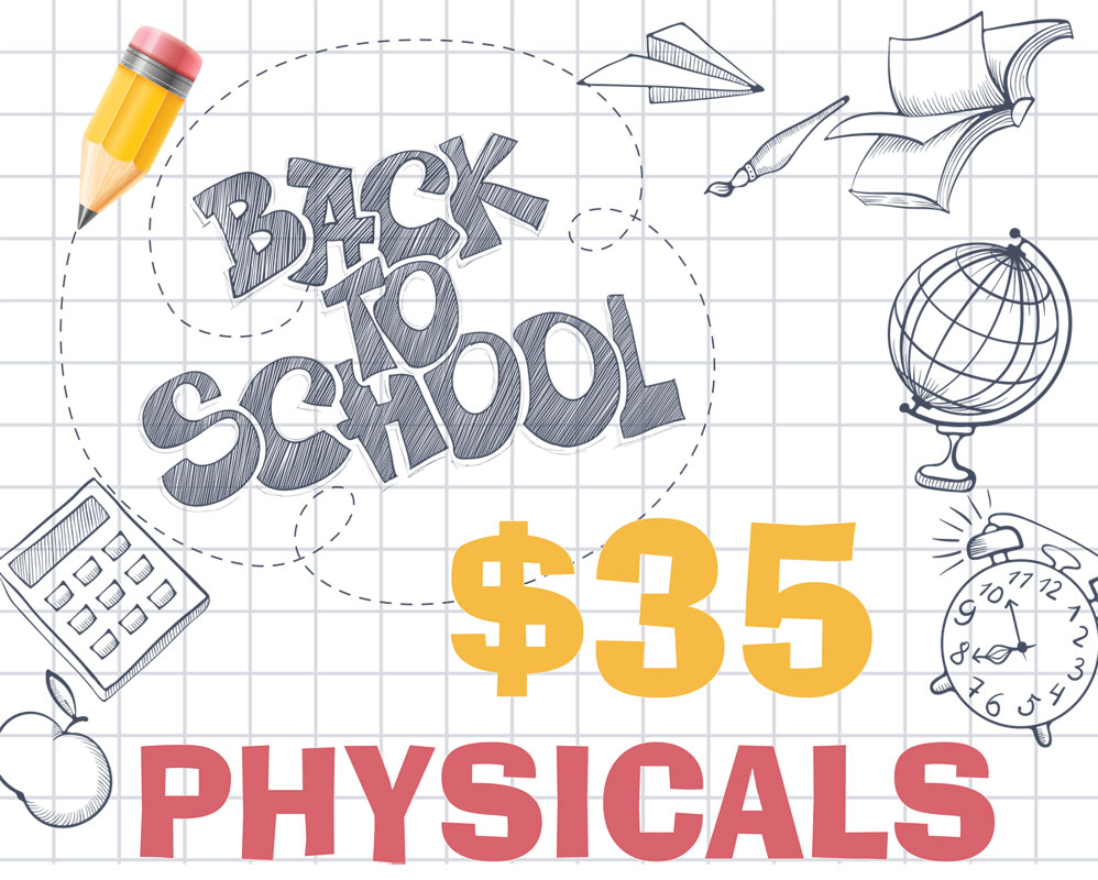 Community Healthcare System offering Back to School Physicals in 2018