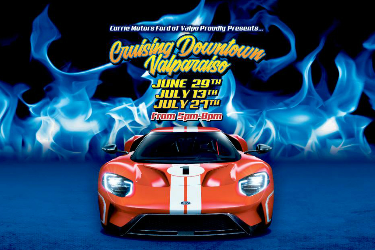 "Currie Motors Ford Brings ""Cruising Downtown Valparaiso"" Back to Town!"