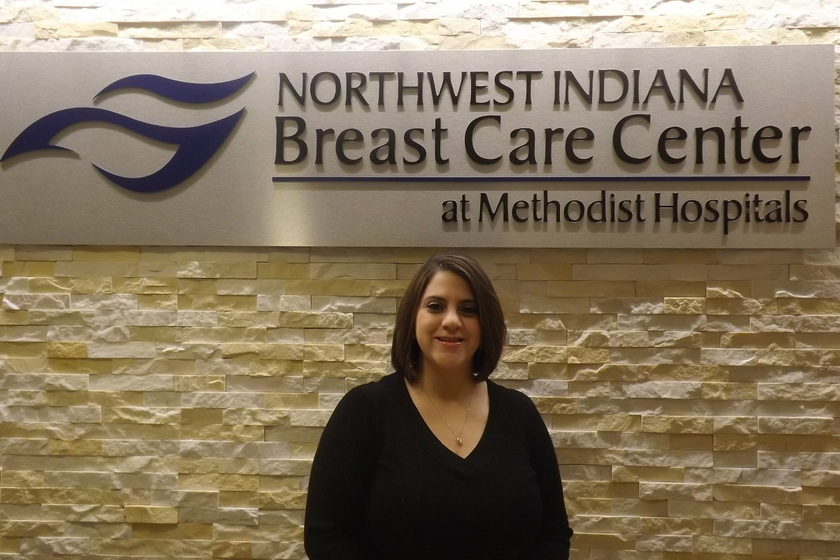 Dena Lopez Finds Inspiration and Encouragement at the Northwest Indiana Breast Care Center