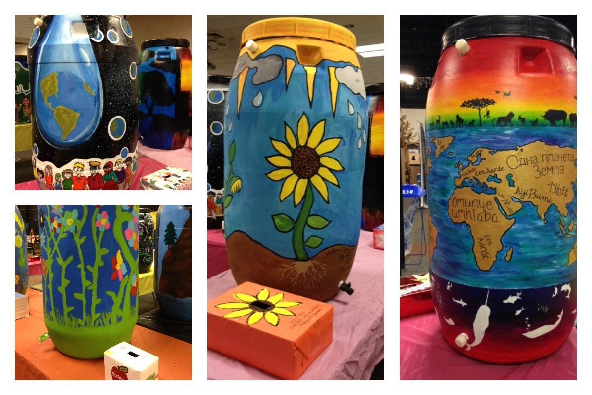2018 Earth Day School Rain Barrel Contest Filling Up Fast