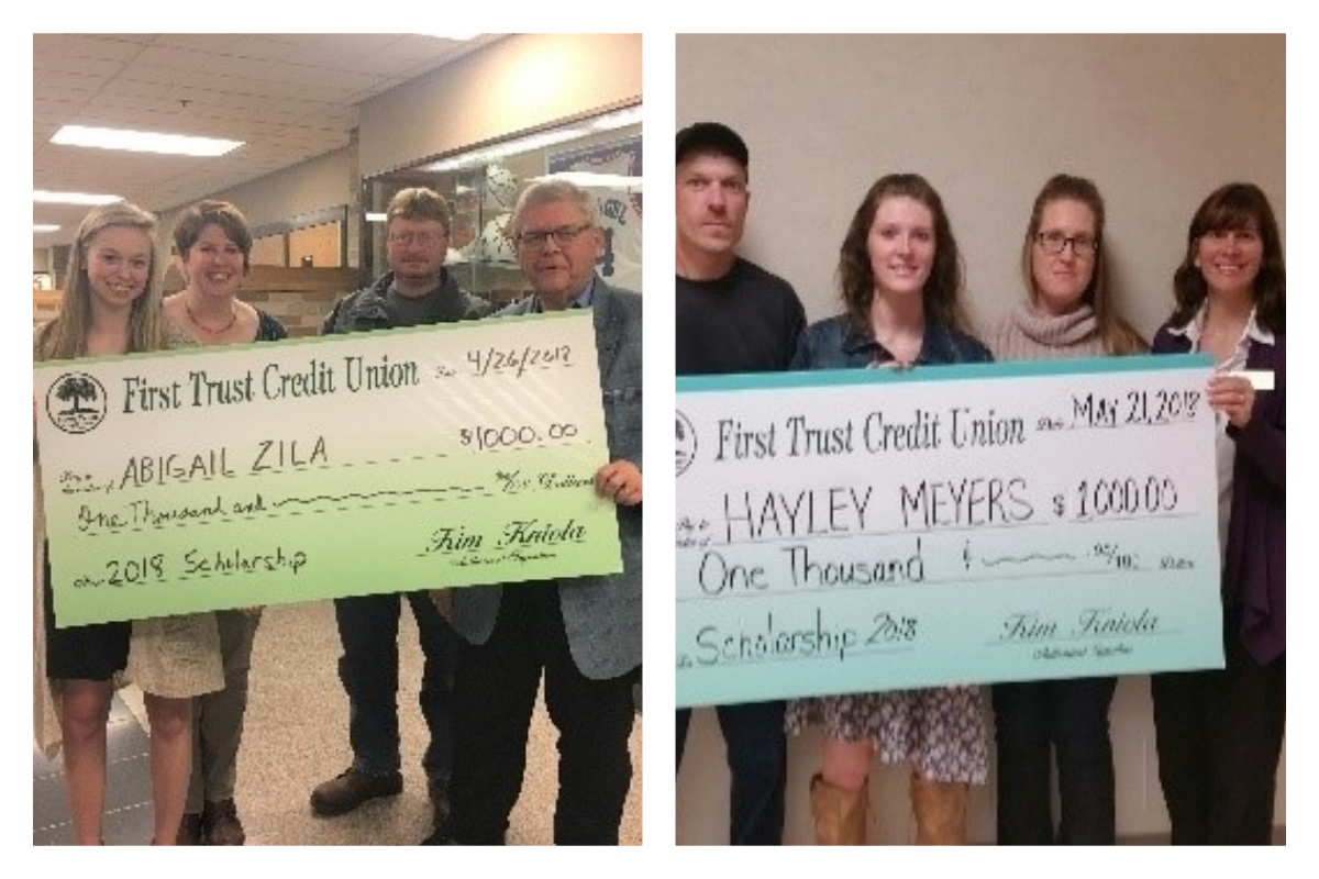 First Trust Credit Union Awards Scholarships to La Porte and Westville Seniors in 2018