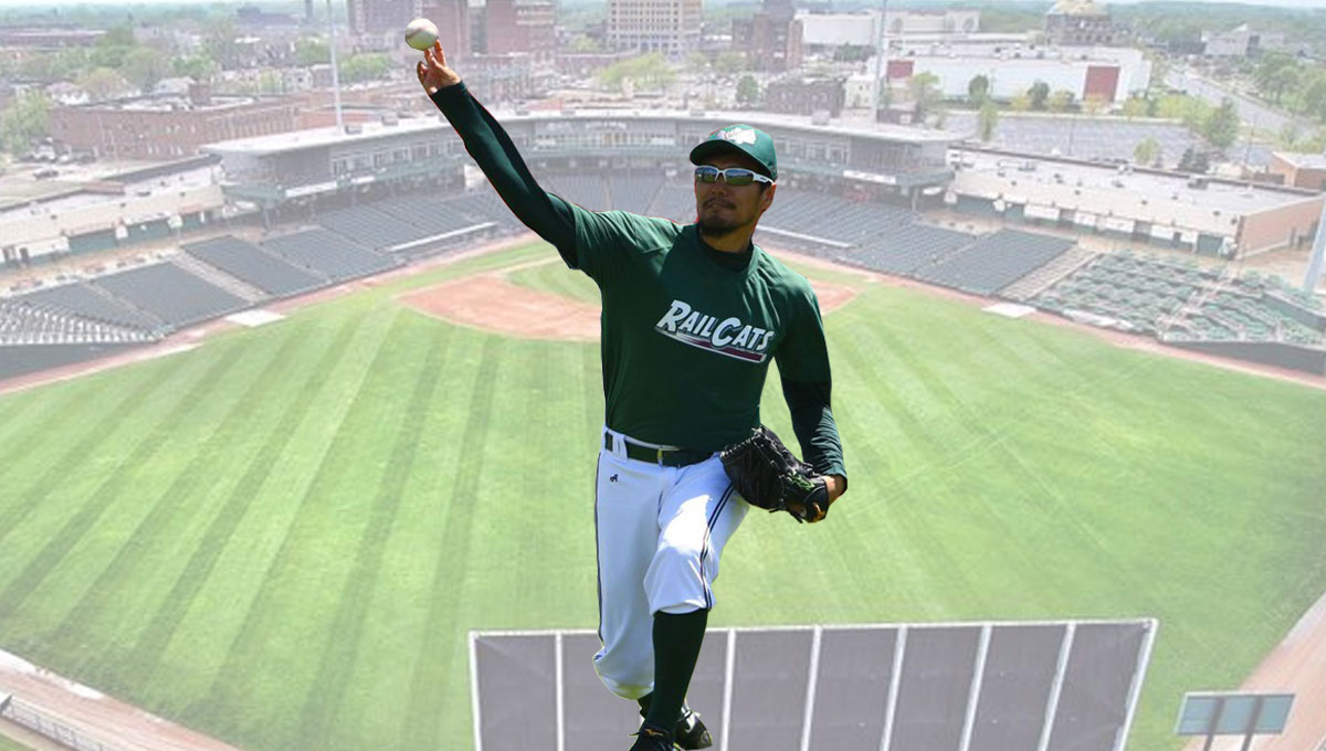 Former Japanese Major League Rookie of the Year Yasutomo Kubo to Start Wednesday for RailCats