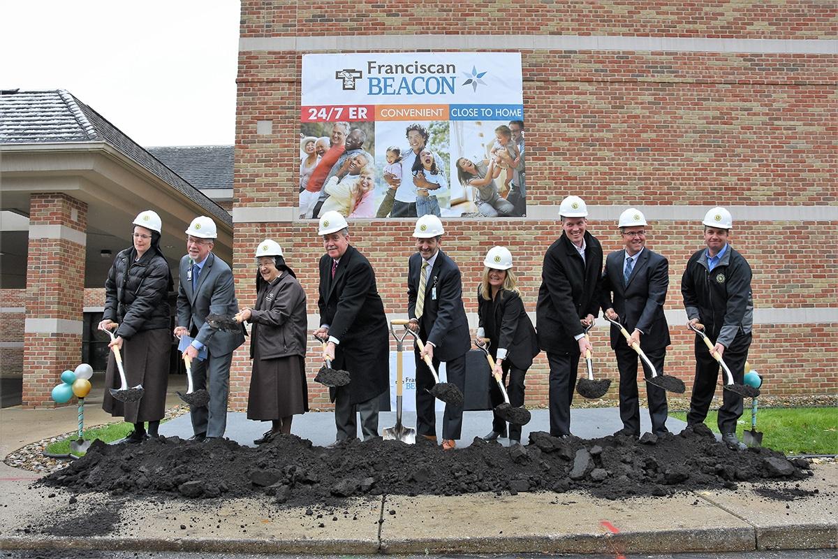 Franciscan Health of Michigan City, Beacon Health Systems Announce $21.6 Million Hospital Project in La Porte