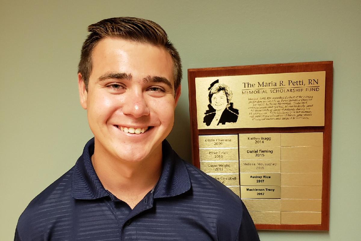 Franciscan Health Michigan City: Annual Scholarship Awarded Nursing Student