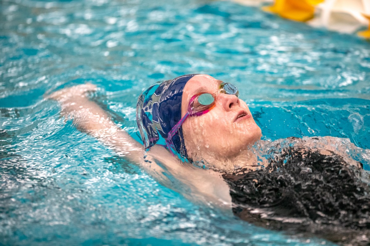 Chesterton Girls Sectional Prelim Swim Meet at Chesterton Brings Out Best from NWI Teams