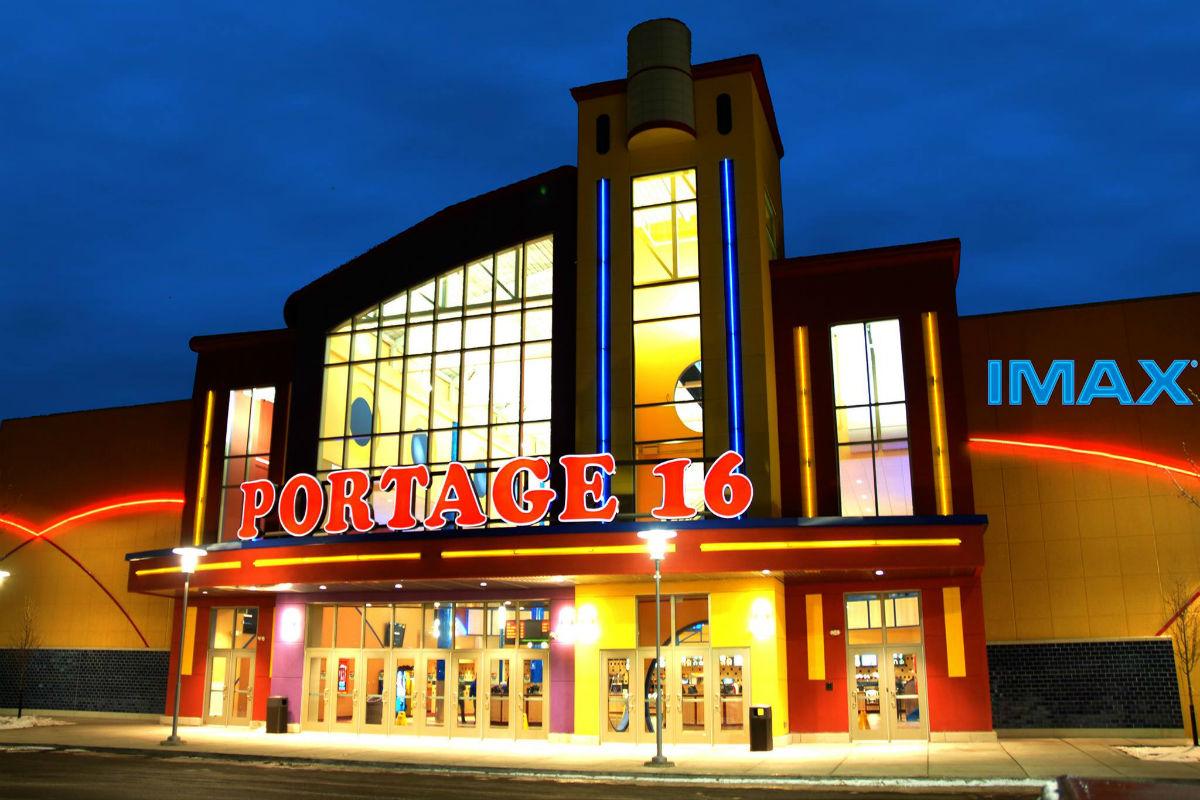 Treat Yourself: Portage 16 IMAX Rewards Movie Goers
