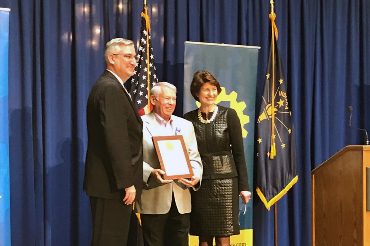 Governor Holcomb Honors Valparaiso's Chester Inc. & 34 Businesses for Contributions to State's Economy & Hoosier Workforce