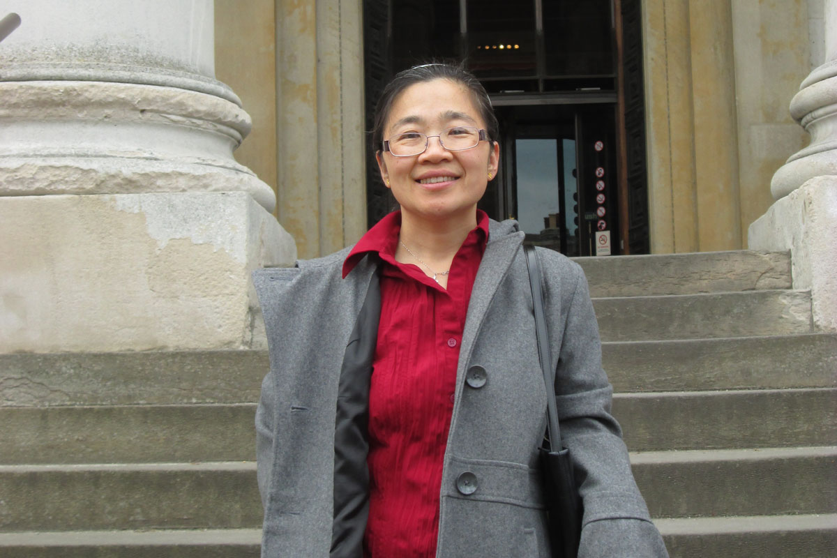 A Valpo Life in the Spotlight: Haiying He