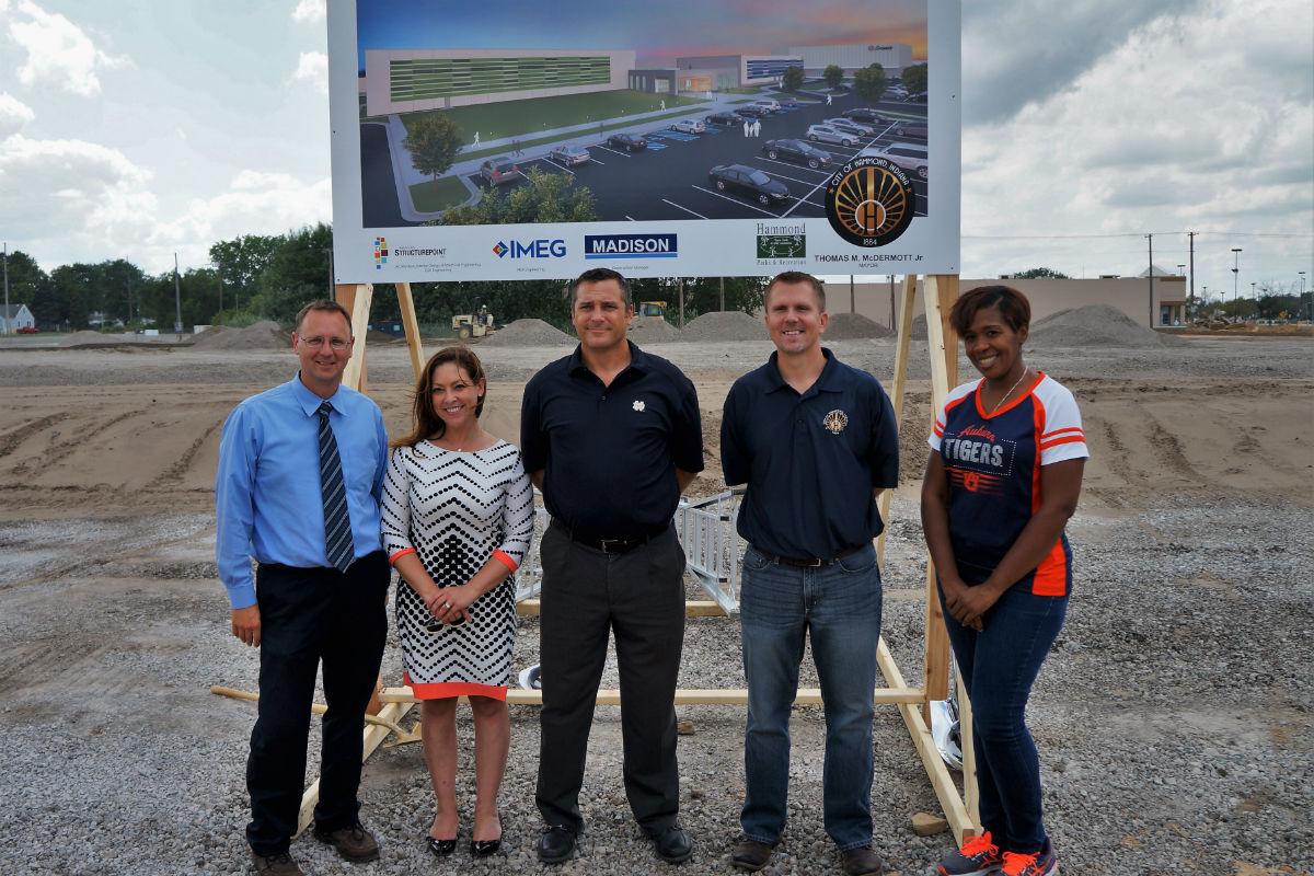 City of Hammond Breaks Ground For New Sportsplex and Community Center on Former Woodmar Mall Site