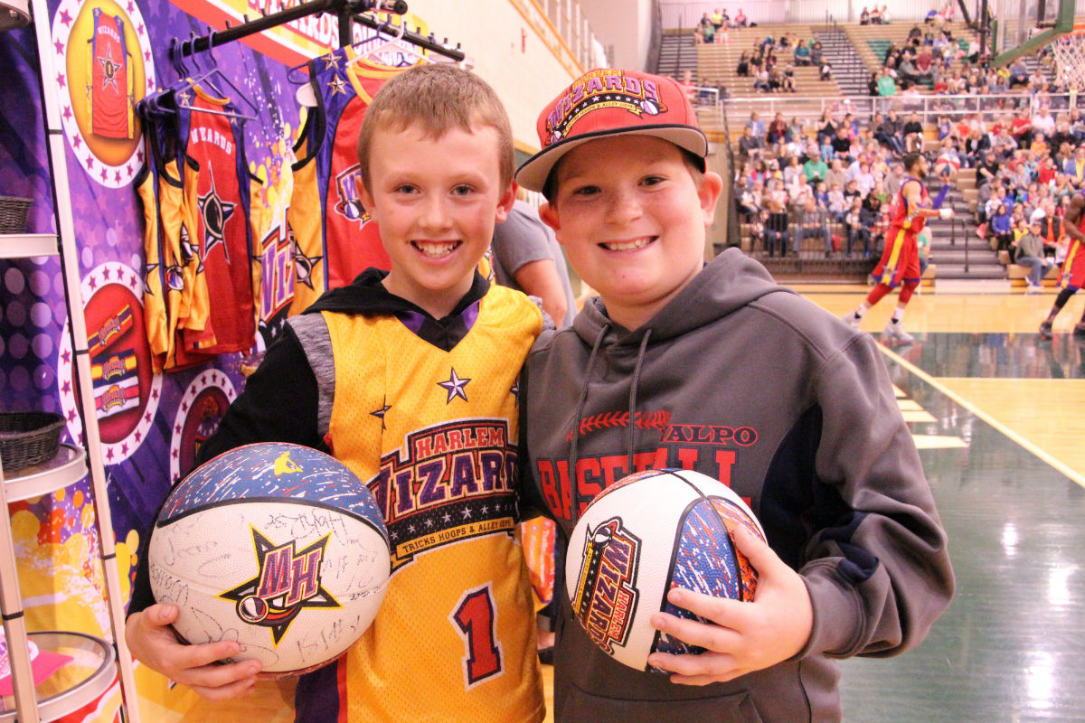 Trick-Hoops and Alley-Oops at the 5th Annual Harlem Wizards vs. Valpo All-Stars
