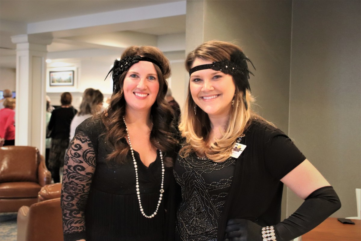 Residences at Coffee Creek Jazzes Up for Speakeasy Event