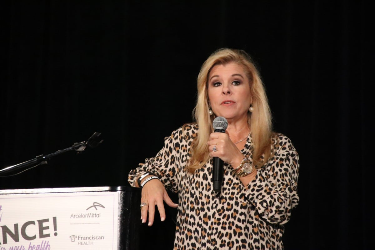 Franciscan Health, in Partnership with ArcelorMittal, Welcomes Leigh Anne Tuohy and Northwest Indiana Women to Just Dance…For Your Health