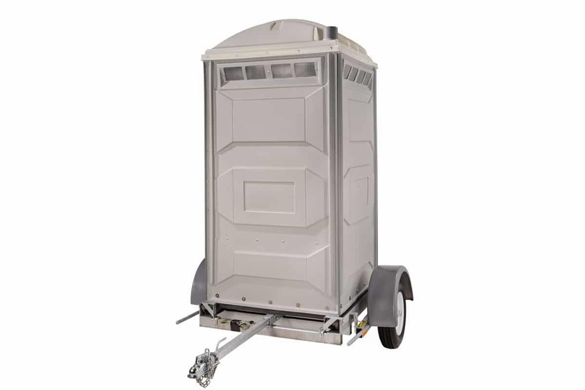 Easy Access with Johnny On The Spot Potty Trailers