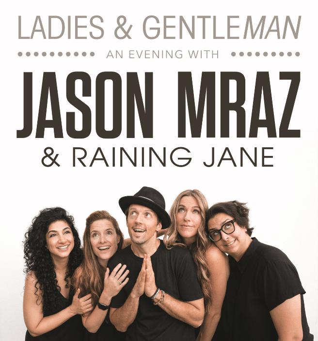 Jason Mraz's tour will make a stop at Four Winds New Buffalo