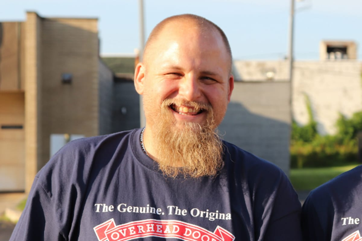 Overhead Door Company of Northwest Indiana's John Kasper glimpses lives behind the doors