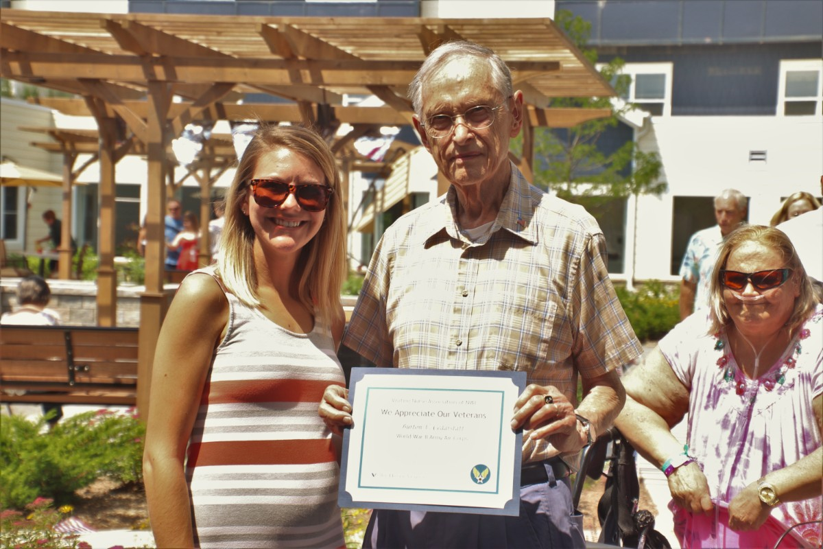Journey Senior Living Celebrates Flag Day With Ceremony and Picnic