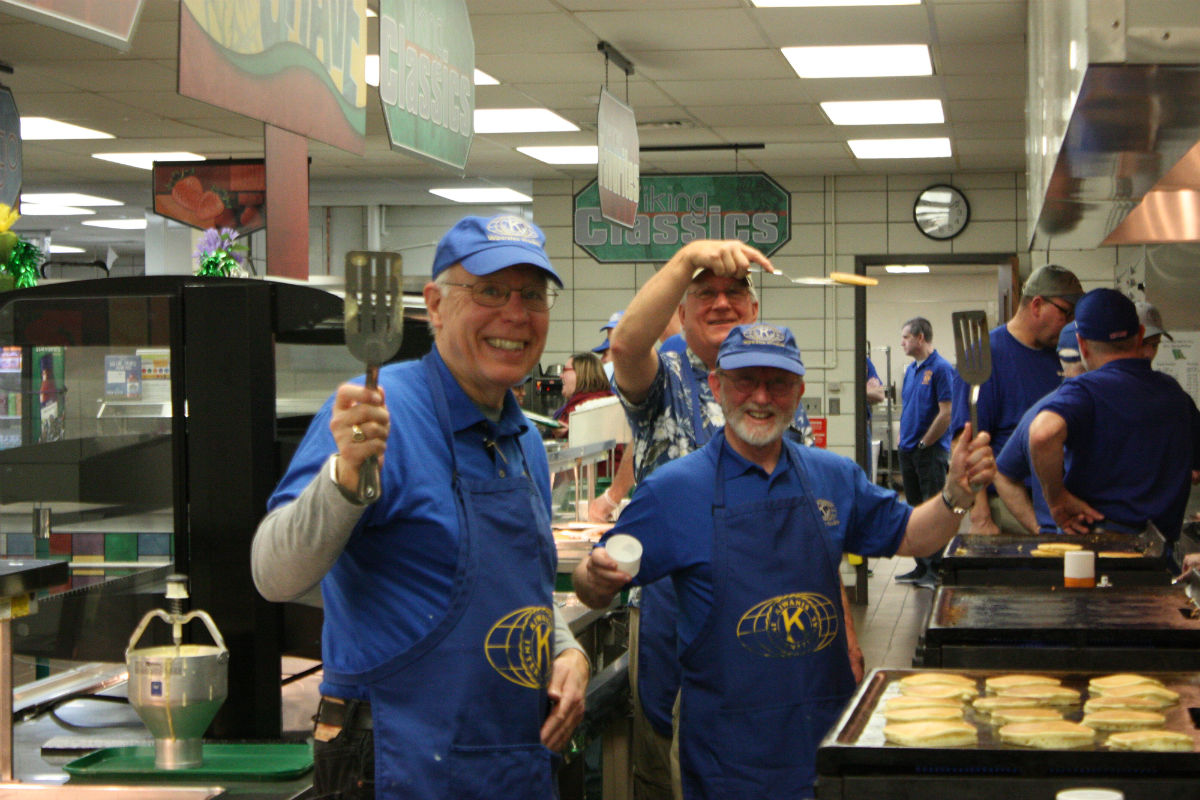 The Kiwanis Club of Valparaiso Held Their 67th Annual Pancake Day Breakfast