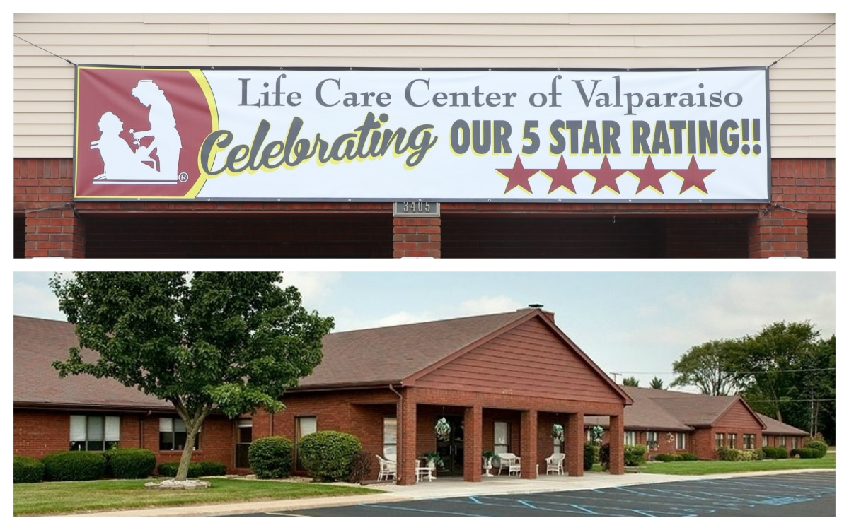 Life Care Center of Valparaiso Receives 5-Star Rating