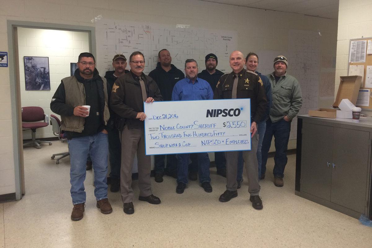 NIPSCO Brings Hope this Holiday Season, Donating $110,000 to Local Charities