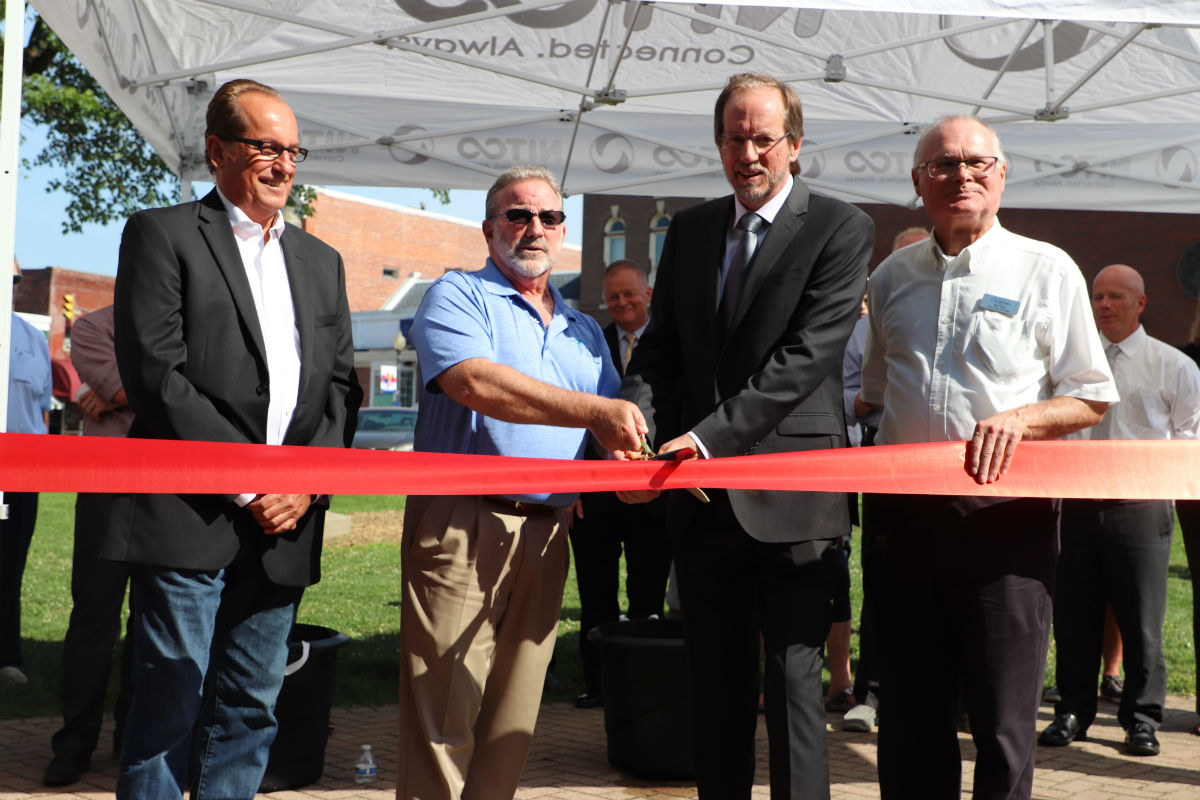 NITCO Looks to the Future for Local Chesterton Businesses at Ribbon Cutting for New Fiber Optic Network