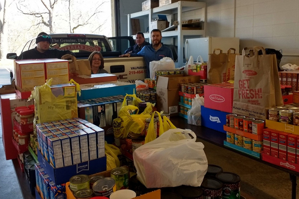 Overhead Door of Northwest Indiana Hosting 7th Annual Food and Toy Drive