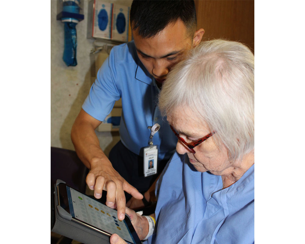Pocket Technology Provides Instant Report Card for Rehab Patient, Family