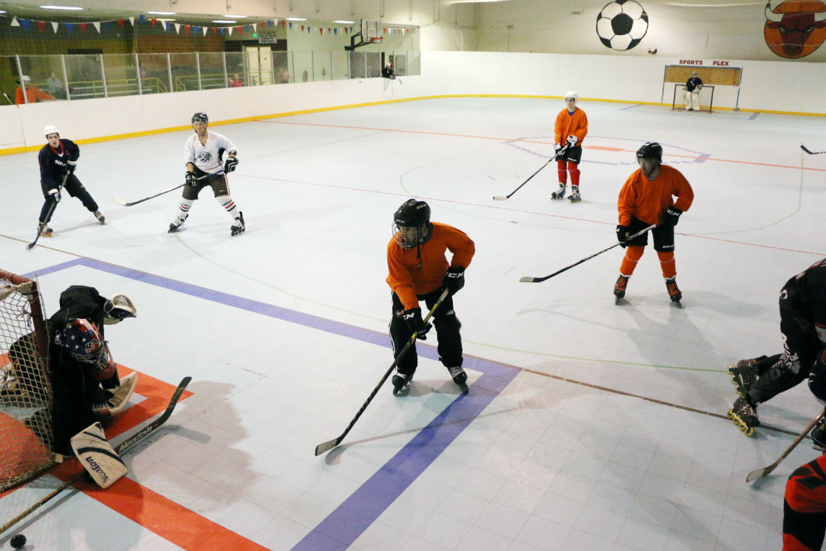 Portage League Offers Roller Hockey at The Sportsplex