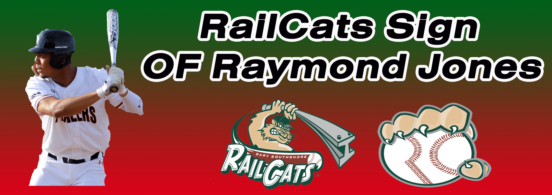 Raymond Jones inks first American Association contract with RailCats