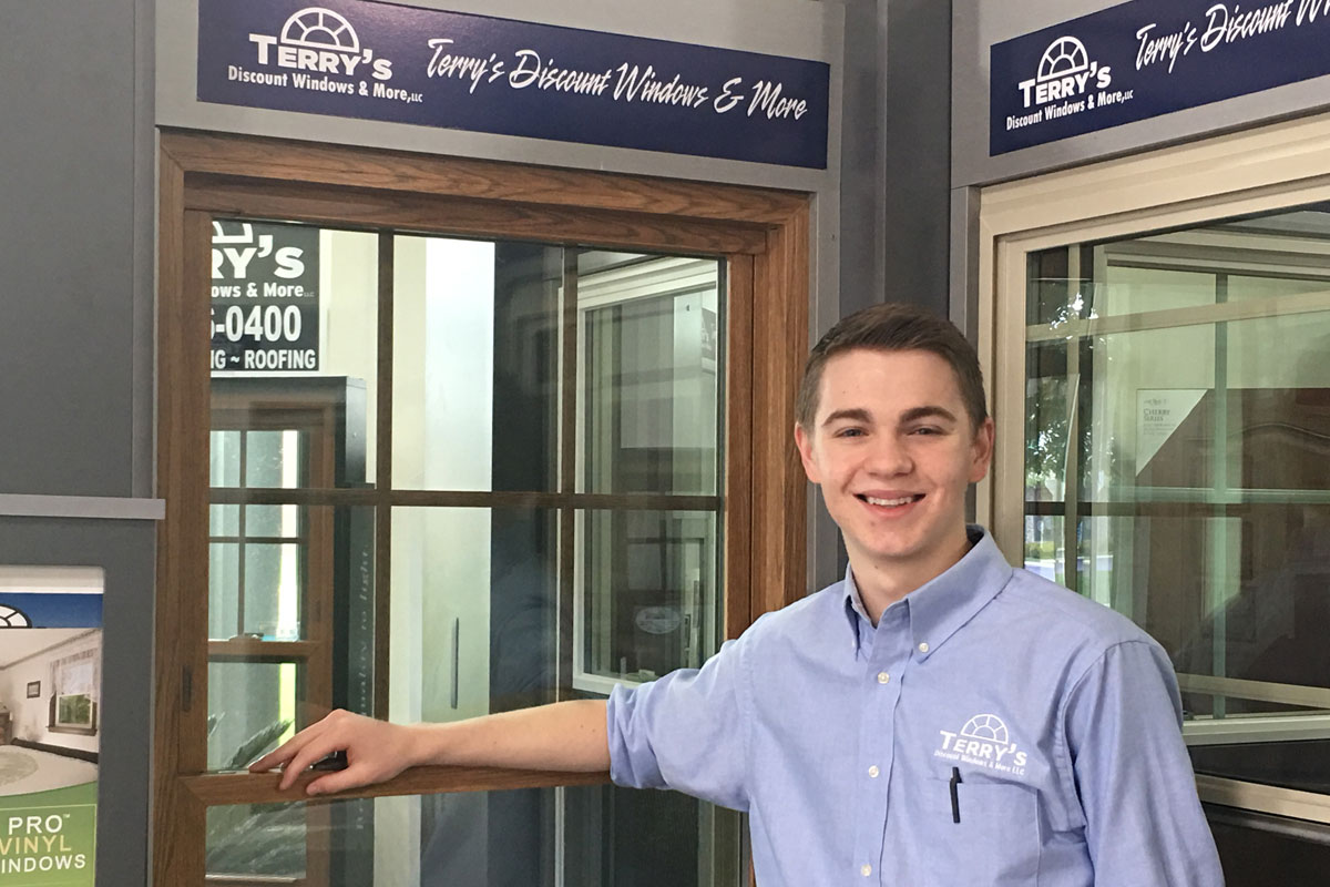 Caleb Keelen Blows the Doors off Sales for Terry's Discount Windows & More