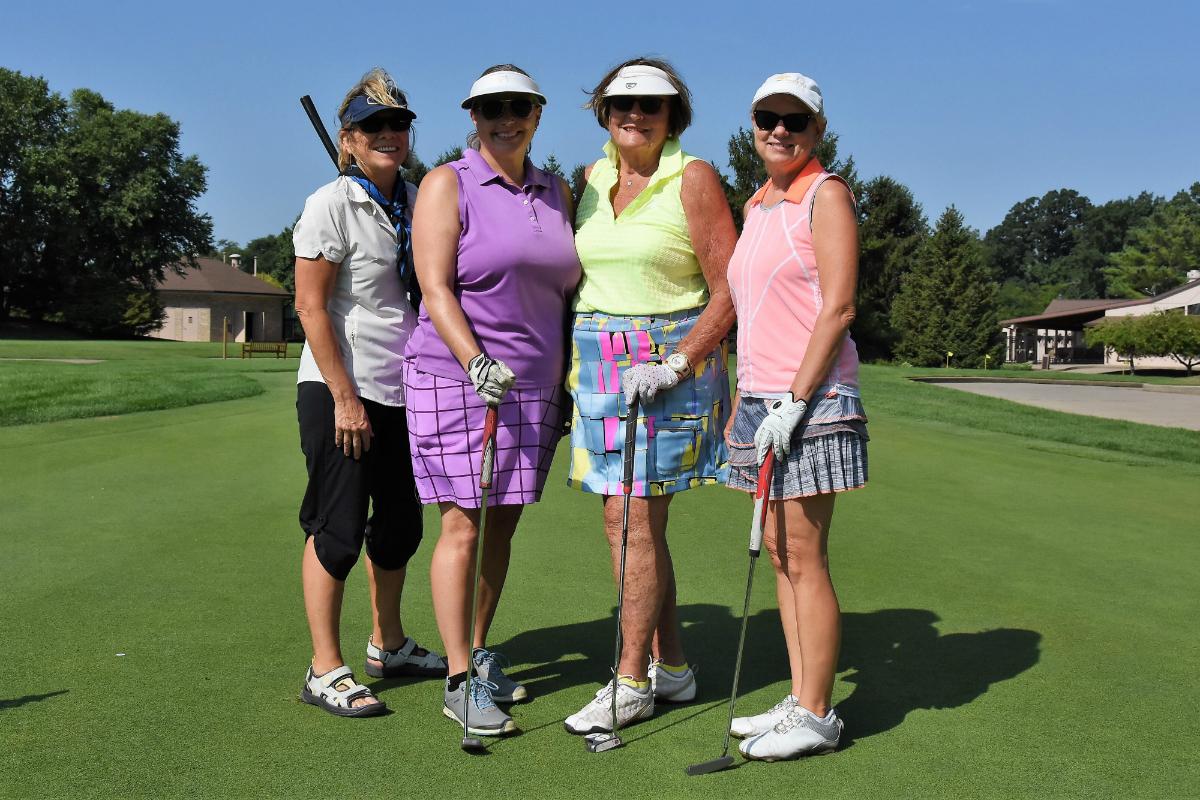 Sand Creek Women's Golf Association Hosts Annual Diva Day, Transforms Course Into Parisian Delight