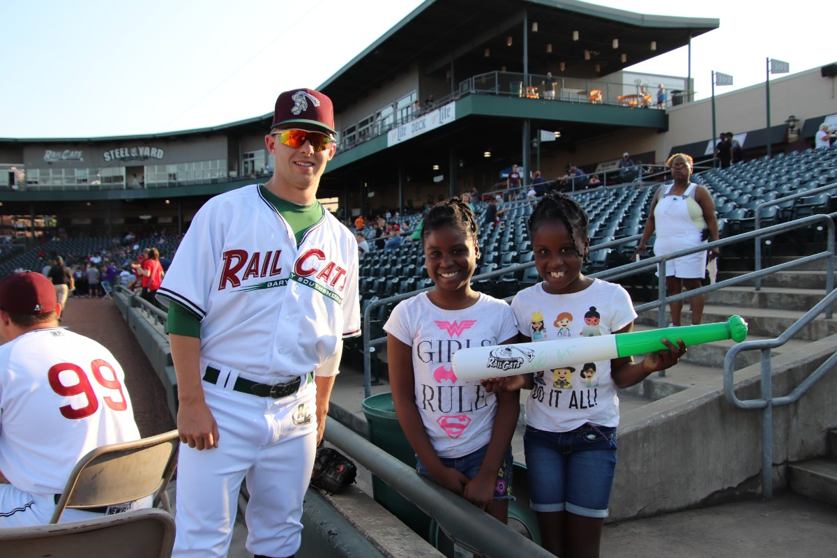 """Gary SouthShore RailCats """"Scout Night"""" Draws Large Crowd"""