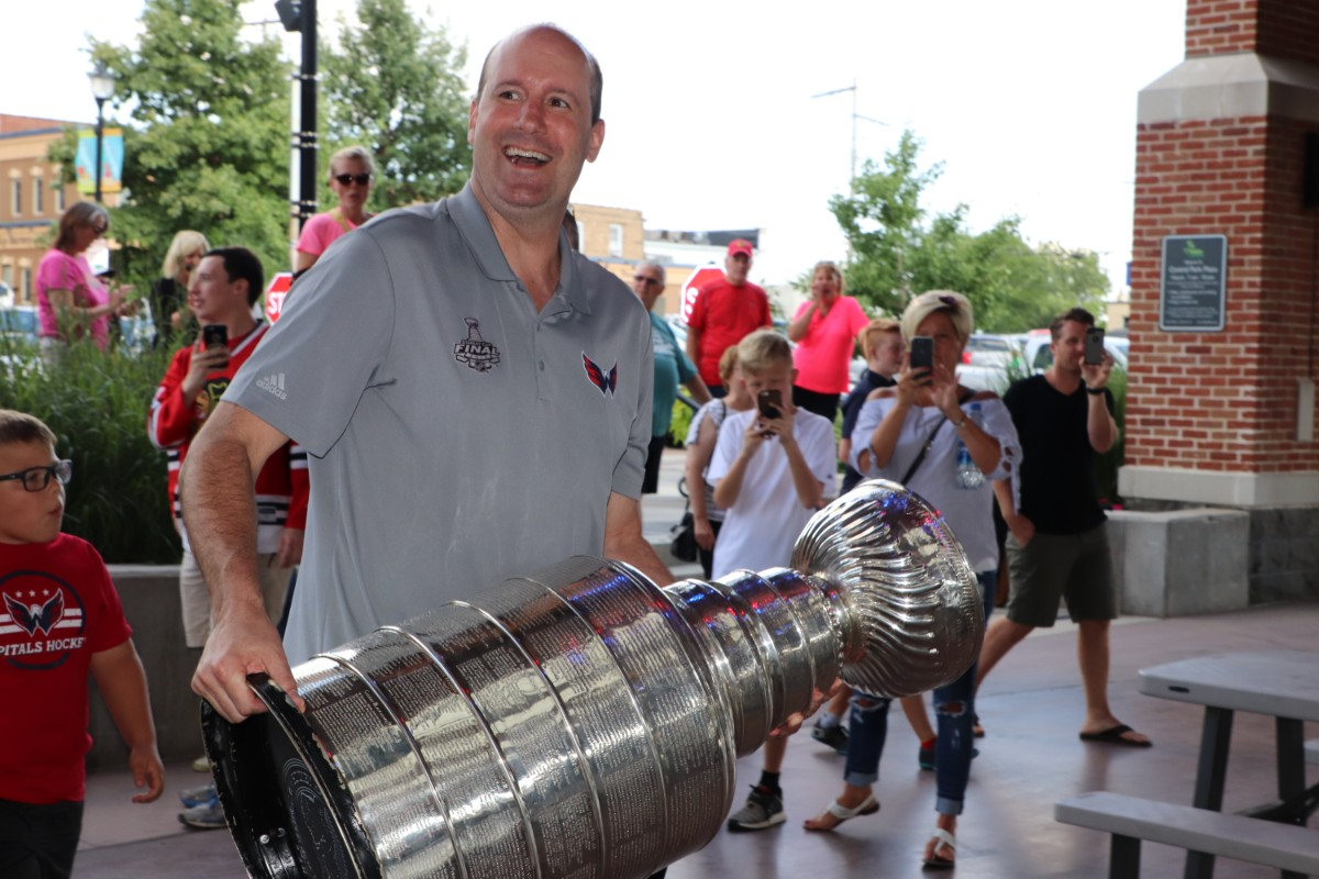 Washington Capitals Coach, Todd Reirden, Brings Stanley Cup and Passion for Hockey to the Region