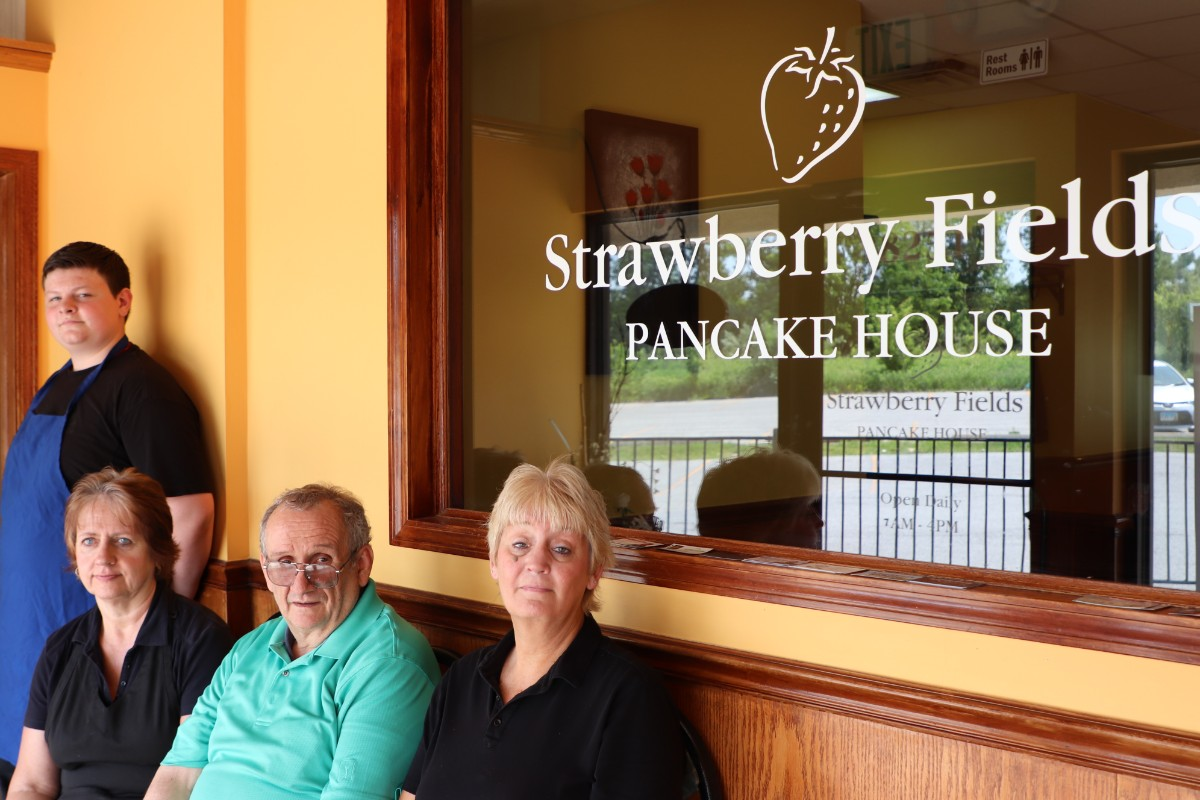Meet Harry Les, Owner and Manager of Strawberry Fields Pancake House